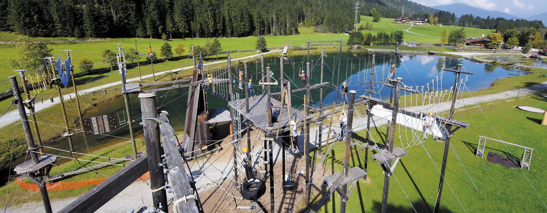 Aktivprogramm im Jugendhotel Saringgut, Salzburg