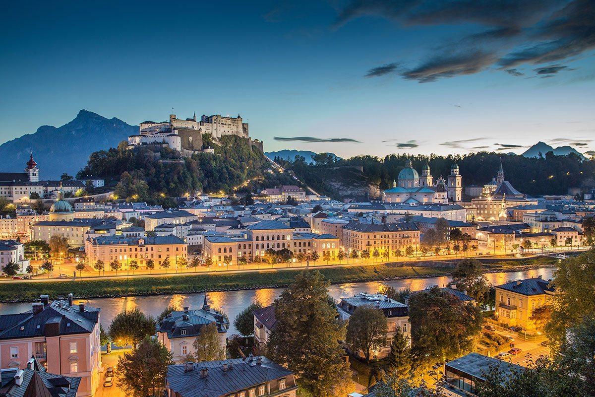 Ausflüge in die Stadt Salzburg - Projektwoche & Klassenfahrt in Wagrain, Jugendhotel Saringgut