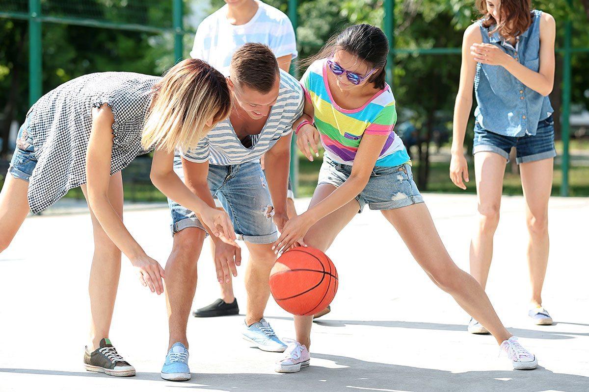 Basketballplatz - Jugendhotel in Wagrain, Salzburg