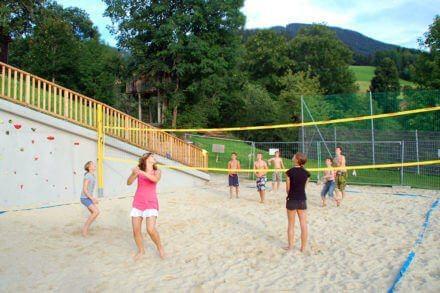 Beachvolleyballplatz - Jugendhotel in Wagrain, Salzburg