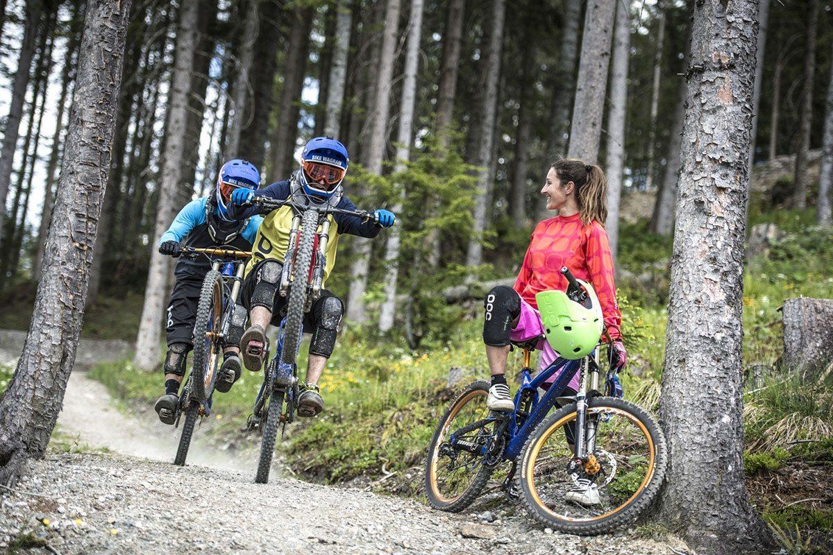 Biken in der Sommersportwoche in Wagrain, Salzburg