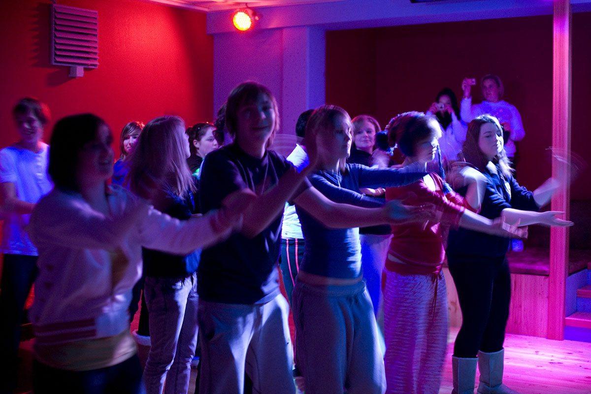 Disco - Projektwoche & Klassenfahrt in Wagrain, Jugendhotel Saringgut