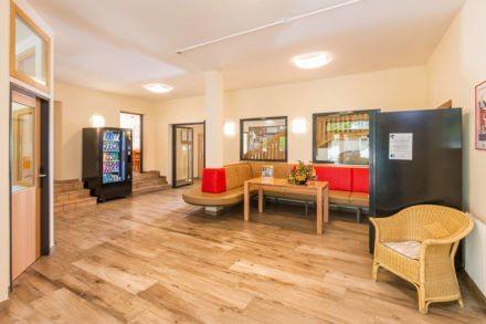 Eingangsbereich im Jugendhotel Saringgut, Sommer- & Wintersportwochen, Ferienlager,... in Wagrain