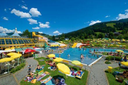 Erlebnisschwimmbad Wasserwelt Wagrain im Salzburger Land