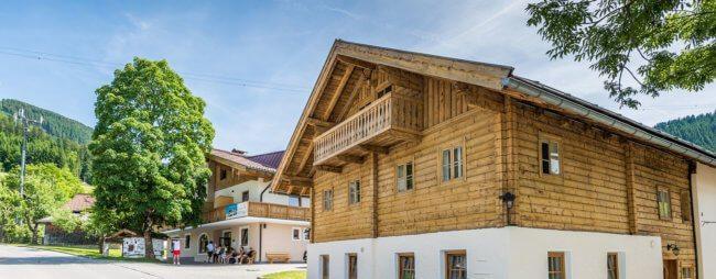 Ferienlager in Salzburg, Jugendhotel Saringgut in Wagrain
