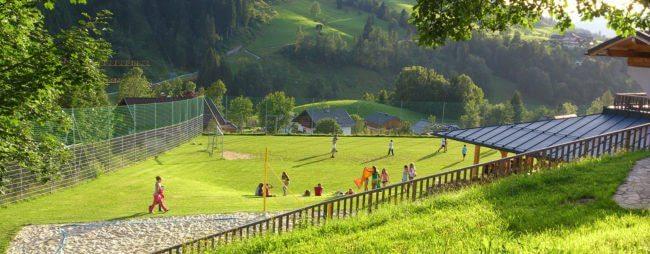 Fußballplatz - Jugendhotel in Wagrain, Salzburg