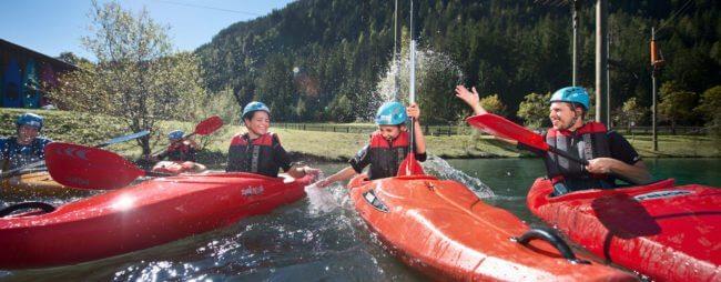 Kajak - Sommersportwoche in Flachau, Salzburger Land
