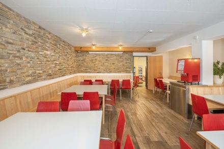 Speisesaal für bis 60 Personen, Jugendhotel in Wagrain