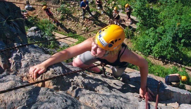 Klettern - Sommersportwoche in Wagrain, Salzburger Land