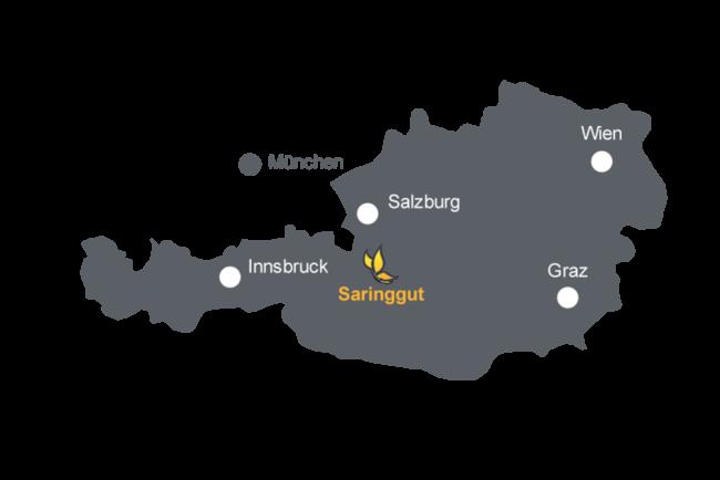 Lage Jugendhotel Saringgut, Wagrain, Salzburg