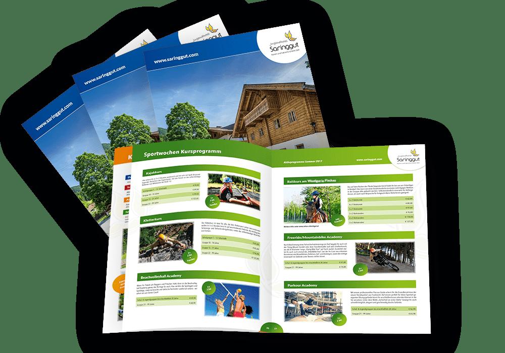 Aktivbroschüre Saringgut Sommer 2019