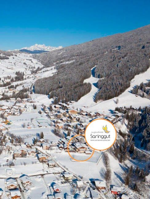 Wintersportwoche in Wagrain, Salzburg - Jugendhotel Saringgut