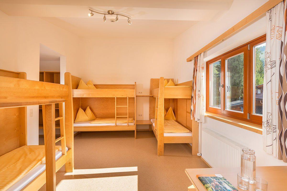 Zimmer im Jugendhotel Saringgut in Wagrain, Salzburger Land